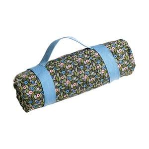 Pikniková deka se světle modrým popruhem Premier Housewares Felicity