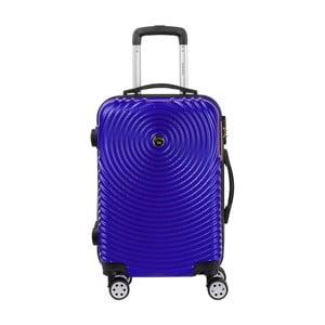 Fialové kabinové zavazadlo na kolečkách Murano Traveller, 55 x 34 cm