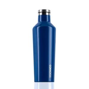 Modrá cestovní termolahev Root7 Canteen Rivera, 470 ml