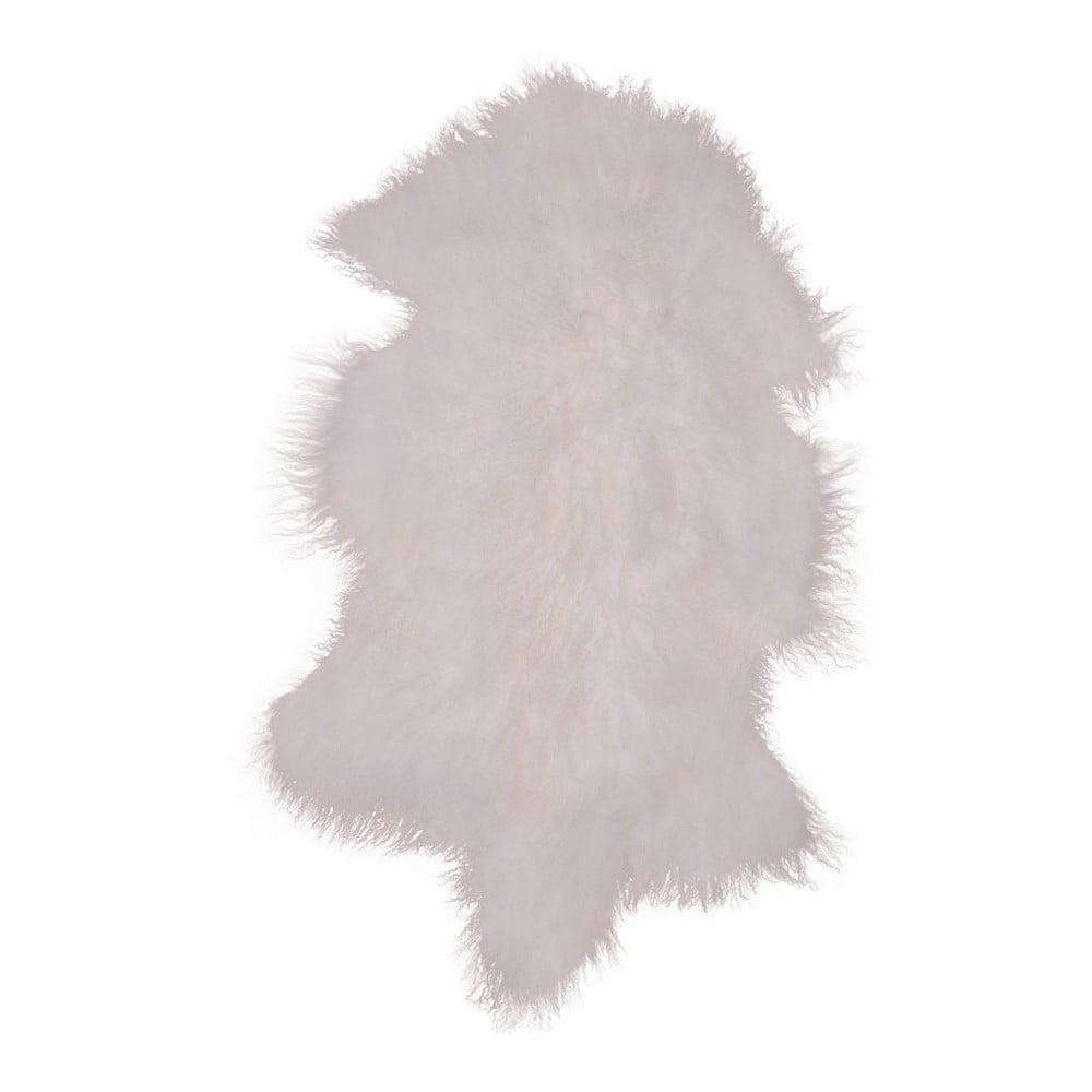 Bílá kožešina z mongolské ovce House Nordic
