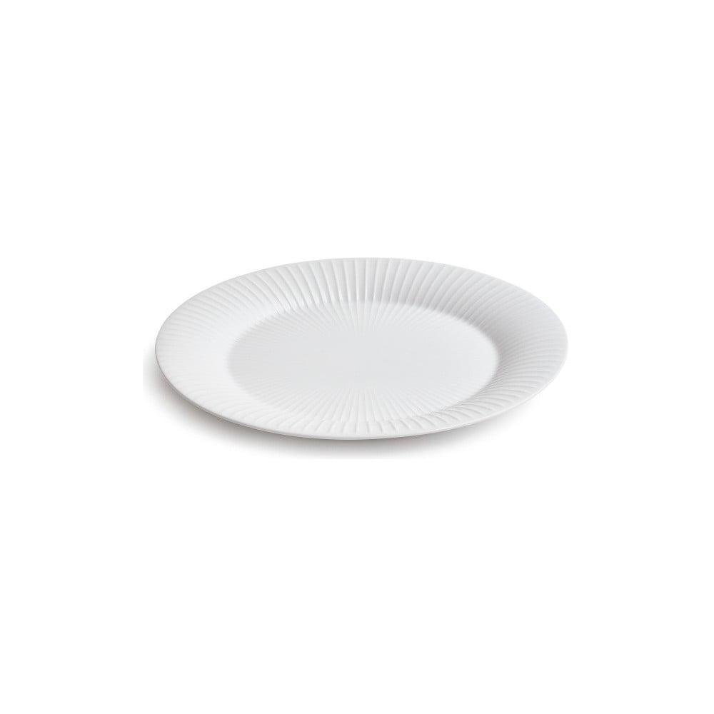 Bílý porcelánový talíř Kähler Design Hammershoi, ⌀ 28 cm Kähler Design