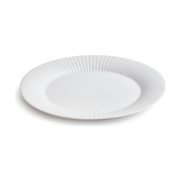Bílý porcelánový talíř Kähler Design Hammershoi, ⌀ 28 cm