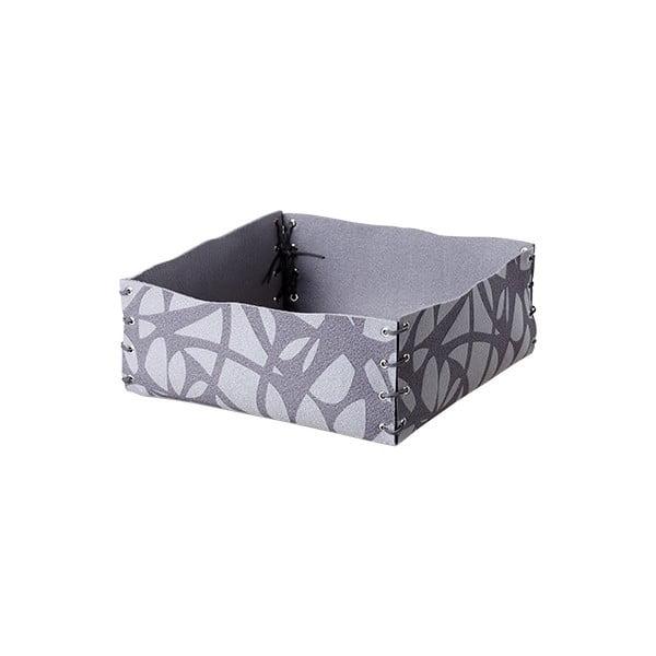 Plstěná krabička 12x6 cm, šedá