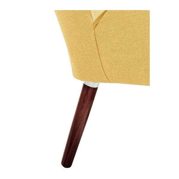 Žluté křeslo Max Winzer Neele Yellow