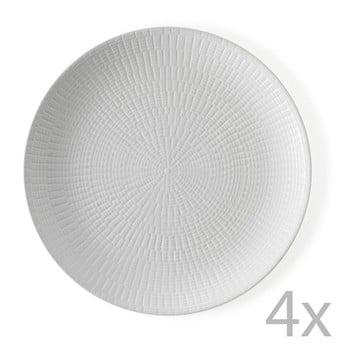 Set 4 farfurii Granaglie Blanc, 27 cm