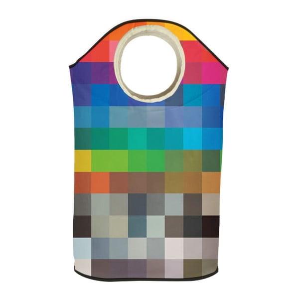 Koš na prádlo Retro Squares