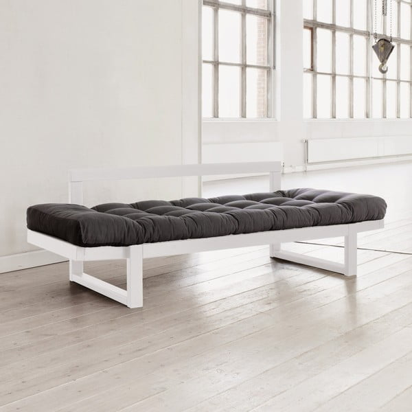 Sofa Edge, White/Grey