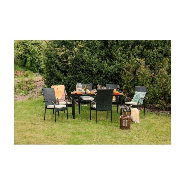 Set mobilier grădină din ratan artificial Timpana Vogue