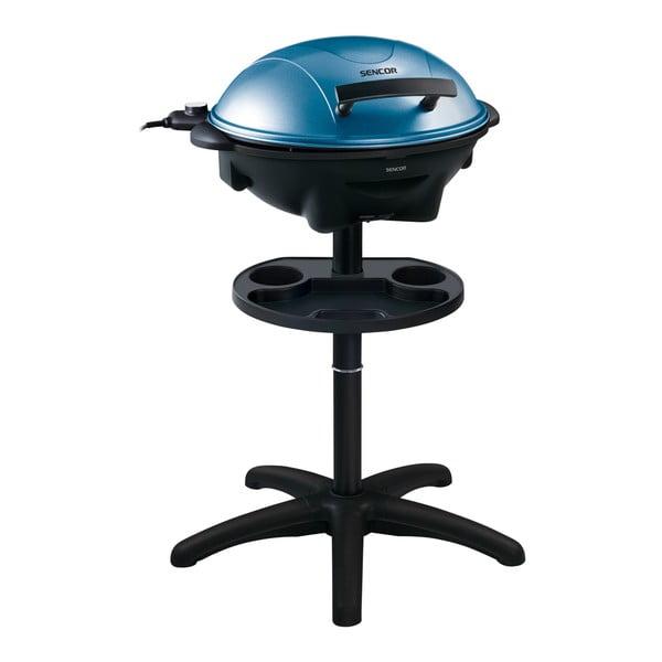 Elektrický gril Sencor, modrý