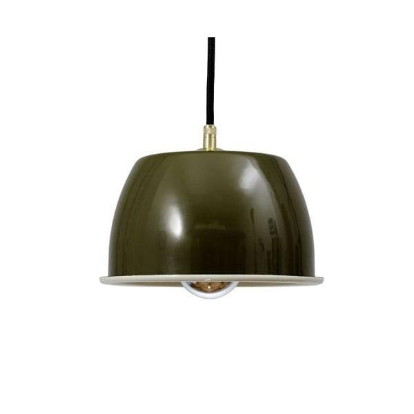 Stropní svítidlo Emailleleuchte 05 Olive/Black
