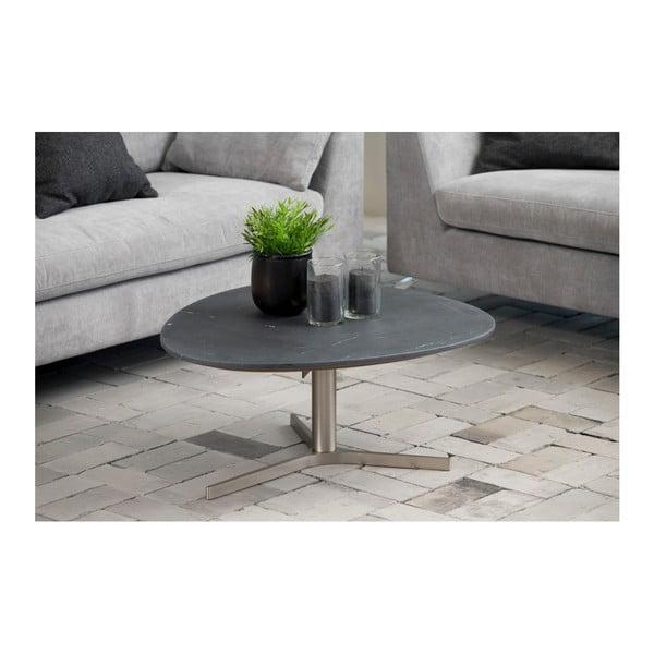 Šedý konferenční stolek Actona Plector, 84 x 33,9 cm