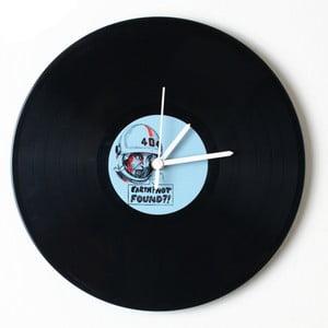 Vinylové hodiny Earth not found