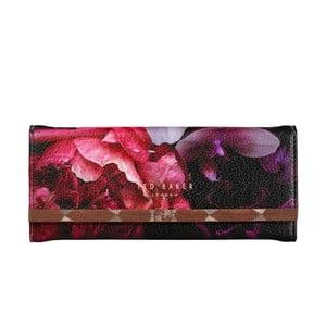 Černý obal na brýle s detailem v růžovozlaté barvě Ted Baker Splendour