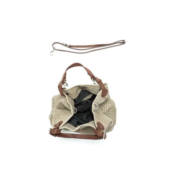 Hnědá kožená kabelka Isabella Rhea no. 858