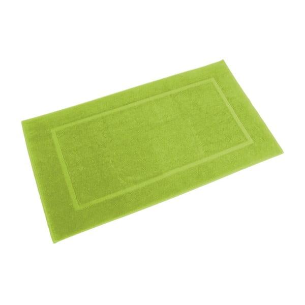 Koupelnová předložka Ziczac 60x110 cm, zelená