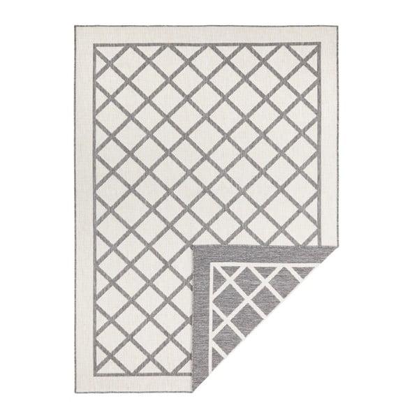 Covor adecvat pentru exterior Bougari Supreme, 170 x 120 cm, gri-crem