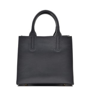 Černá kožená kabelka Mangotti Erica