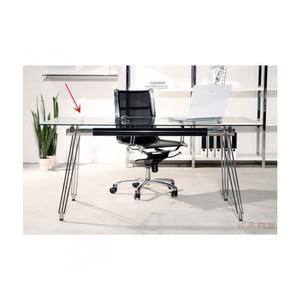 Skleněná stolní deska Kare Design Clear, ⌀ 100 cm