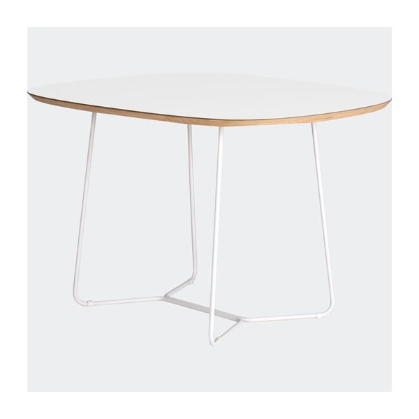 Stůl Maple střední, bílý