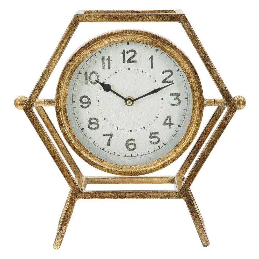 936371fe965 Stolní hodiny ve zlaté barvě Mauro Ferretti Ret