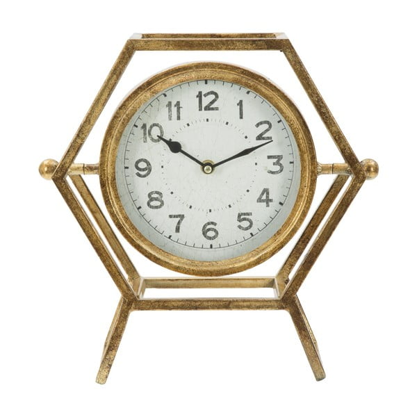 Stolní hodiny ve zlaté barvě Mauro Ferretti Ret