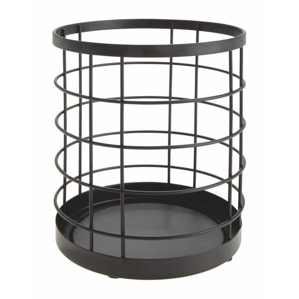 Černý stojan na kuchyňské pomůcky iDesign Austin