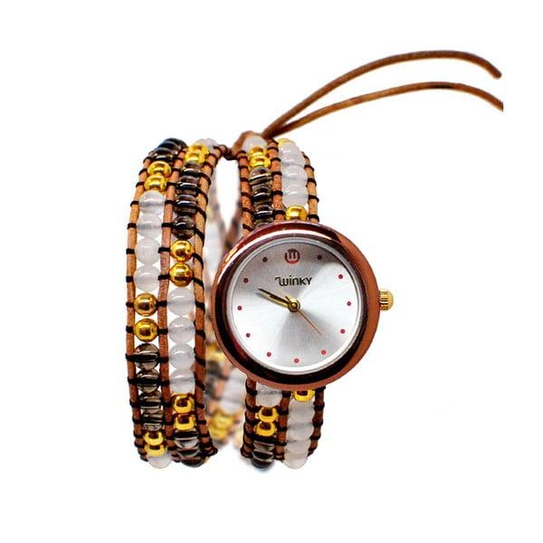 Korálkové hodinky Double, Pina Colada