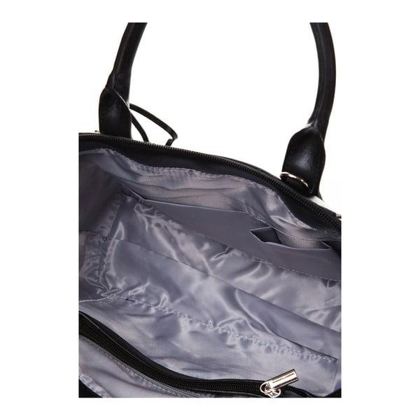 Kožená kabelka do ruky Marta Ponti Aipee, černá