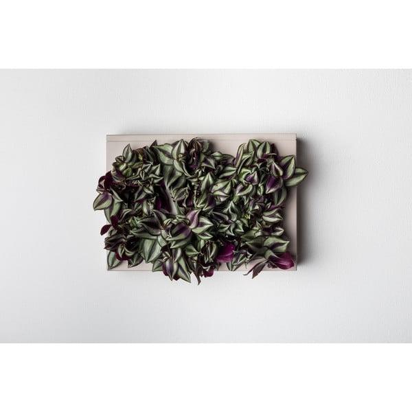 Vertikální květináč HOH! Grigio, 38x27 cm