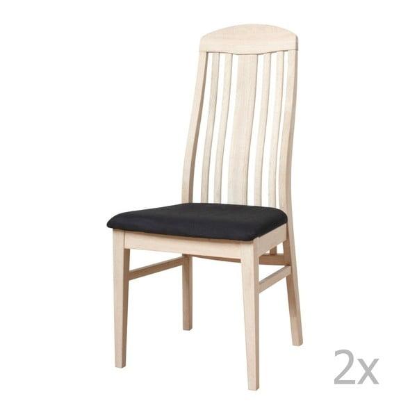 Heidi tölgyfa székkészlet, 2 részes - Furnhouse