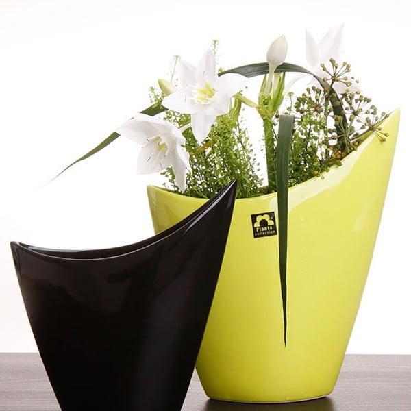 Váza Cher 26 cm, zelená