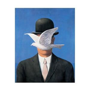 Magritte - Muž v klobouku