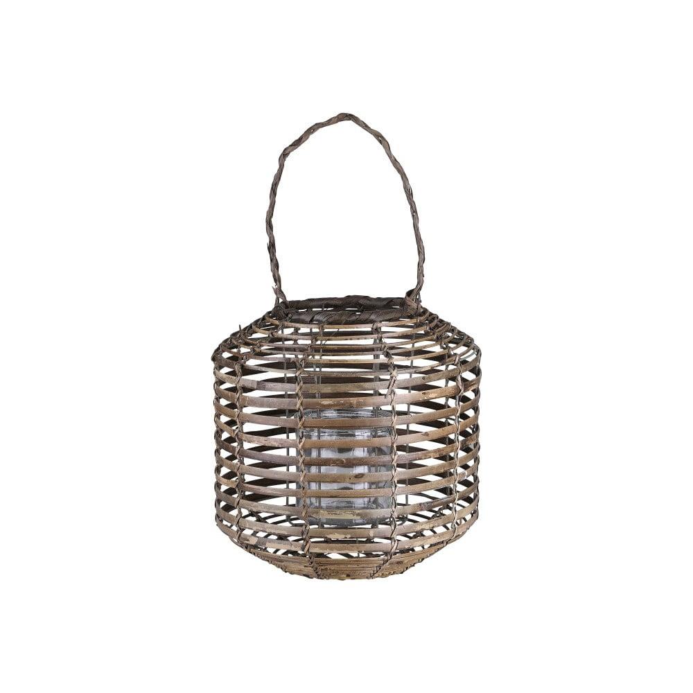 Hnědá dekorativní lucerna A Simple Mess Strat