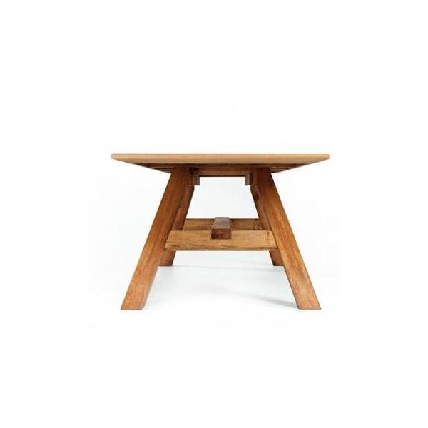 Stůl Linia 32.1, olše napuštěná lněným olejem, 200x100 cm