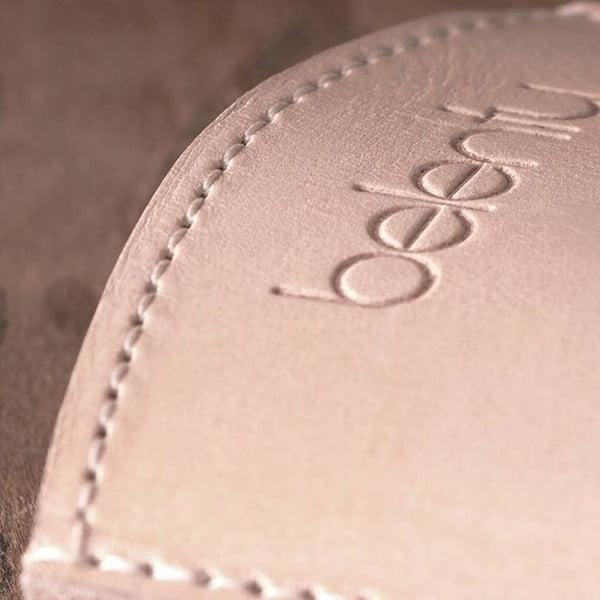 Kožený obal na Samsung Galaxy S4 Cream