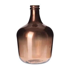 Skleněná váza Inart Copper