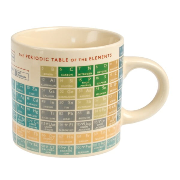 Periodic Table bögre, 350 ml - Rex London