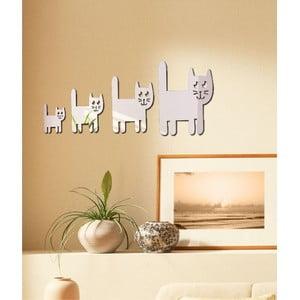 Dekorativní zrcadlo Kočičí rodina