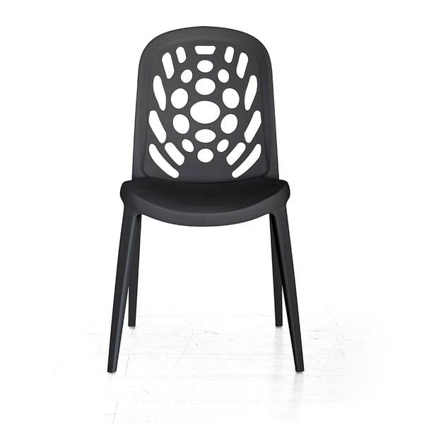 Židle Allegra, černá