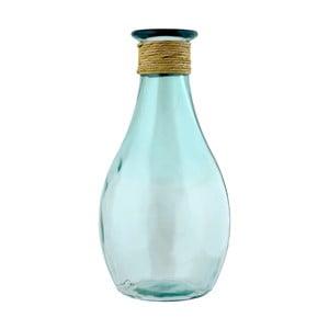 Váza z recyklovaného skla Ego Dekor LISBOA, výška 40 cm