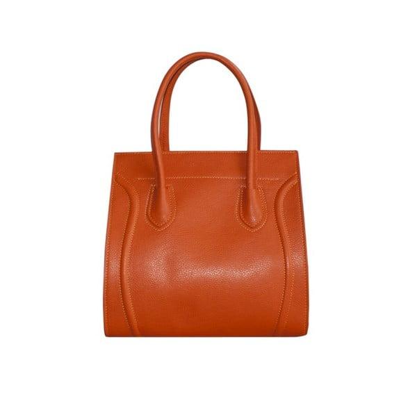 Kožená kabelka Dolce Cel Arancione