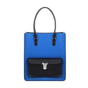 Kožená kabelka Taylor Royal Blue/Black