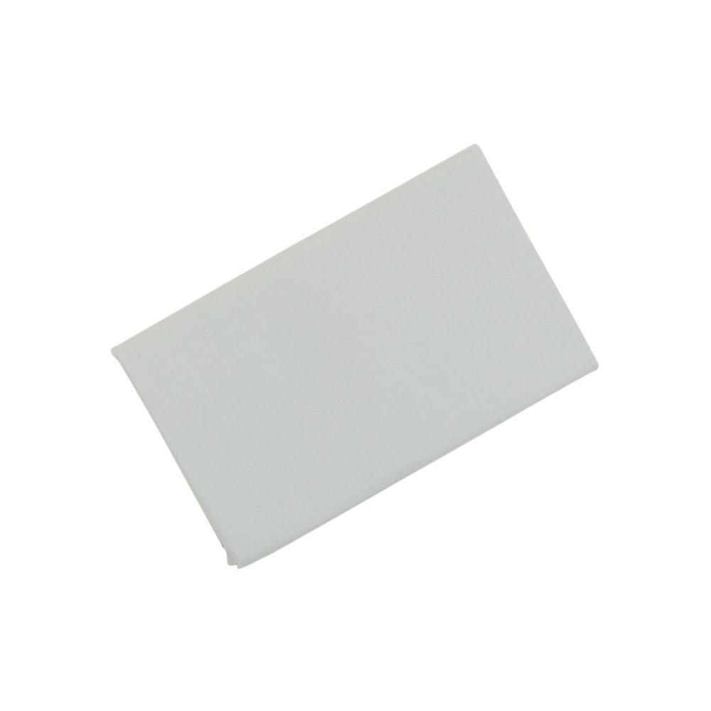 Bavlněné prostěradlo Grey, 180 x 200 cm