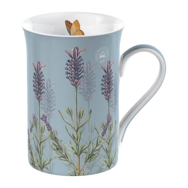 Sada hrnku, sítka a tácku na čaj Royal Botanic