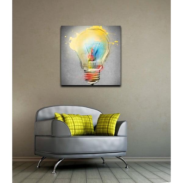 Tablou Bulb, 60 x 60 cm