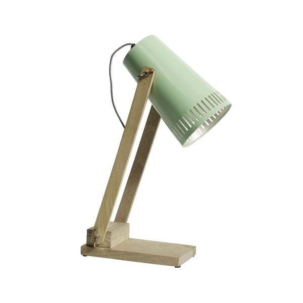 Zelená stolní lampa Nordal Retro