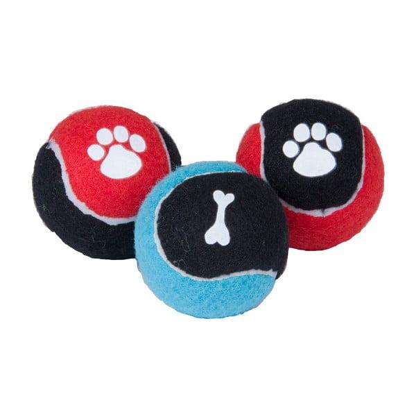 Set 3 mingi pentru câini Tri-Coastal Design Pet World