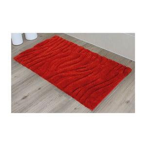 Koupelnová předložka Welle Red, 60x100 cm