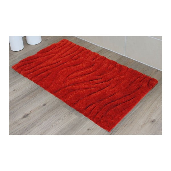 Koupelnová předložka Welle Red, 50x70 cm