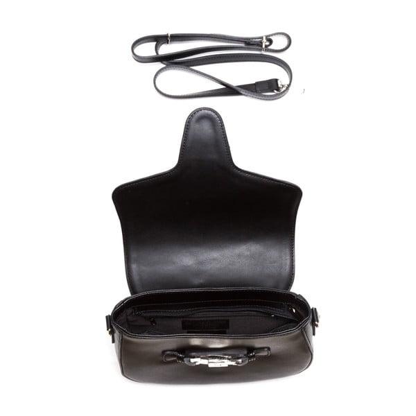 Kožená kabelka Ilaria, černá